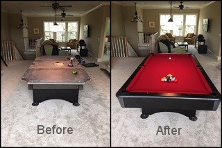 expert pool table recovering in Covington content img3